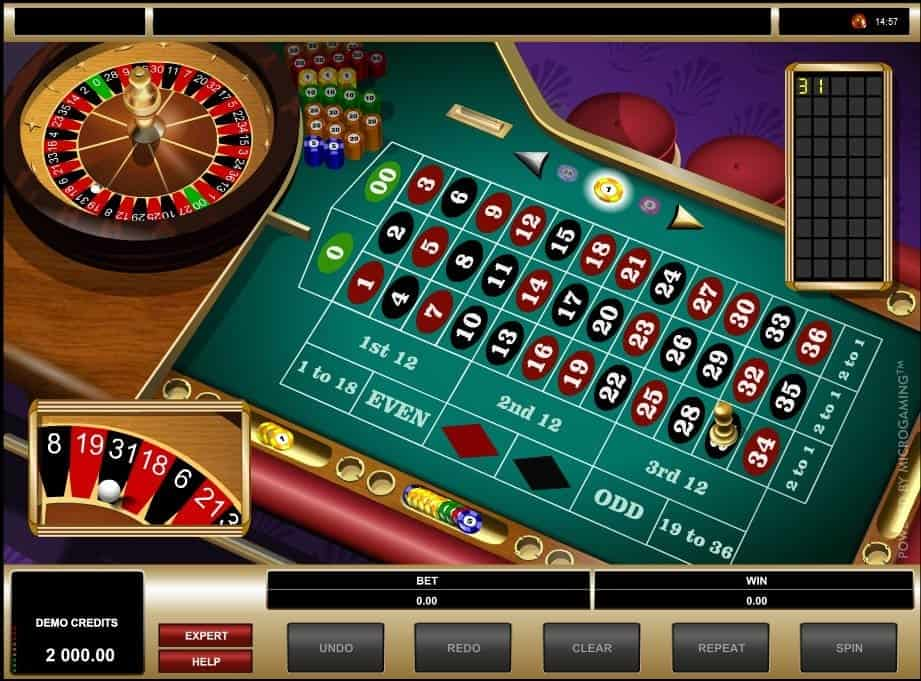 American Roulette Microgaming