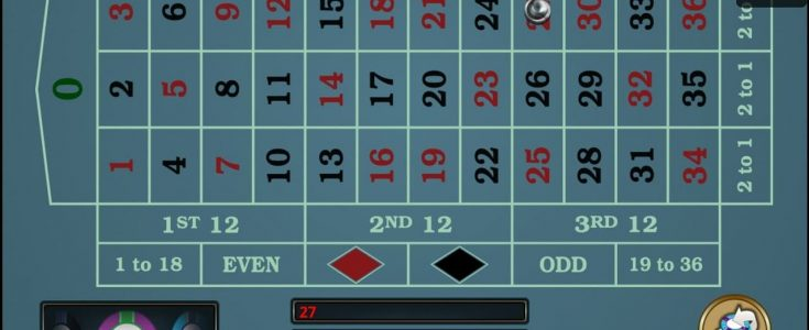 European Roulette gold Series Mobile