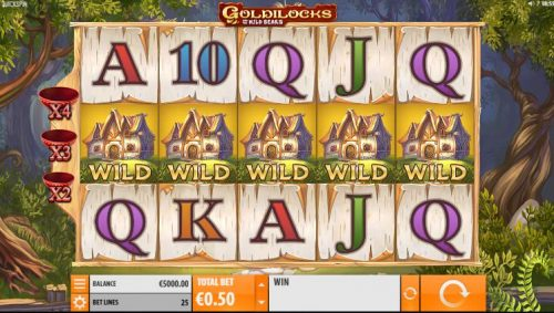 Goldilocks is een goede online slot voor beginners