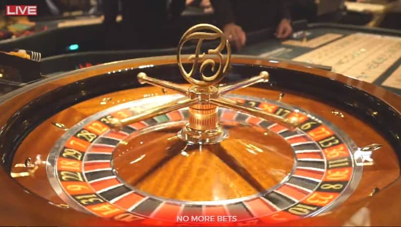 Europees roulette in Bad Homburg in Duitsland