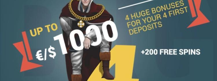 Casino bonus bij King Billy